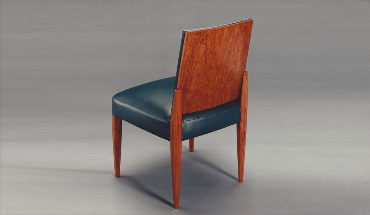 Bubinga dining chair